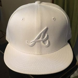 New Era Fitted Atlanta Braves Hat